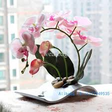 Wholesale Flower Vase 2017 Wholesale Flower Arrangement Ikebana Arranged Artificial