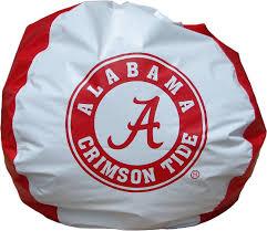 Alabama Crimson Tide Home Decor by Amazon Com Bean Bag Boys Bean Bag Alabama Crimson Tide Kitchen