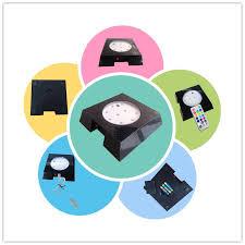 Led Light Base For Centerpieces by 4 U0027 U0027 Led Bio Disc Light Remote Controlled Multi Color Led Light