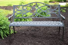 Vintage Woodard Wrought Iron Patio Furniture by Step Benches For Sale Home Decorating Interior Design Bath