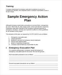 emergency action plan template 45 free action plan templates