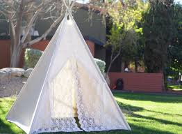 Kids Teepee by Glamour Lace Teepee Tent Kids Teepee Play Tent Girls Lace