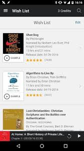 my wish list where is my wishlist in audible app quora