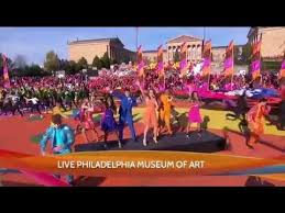 2015 philly thanksgiving day parade opening number