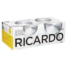 cuisine en batterie de cuisine batterie de cuisine 9 pièces en acier inoxydable ricardo rona