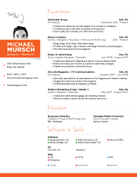Best Resume Fonts Creative by Resume Good Resume Design