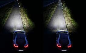 ferrari headlights at night the state of headlight technology the car guide