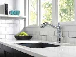 Kitchen Pullout Faucet by Faucet Com 4197 Ar Dst In Arctic Stainless By Delta