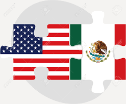 Mexican American Flag United States Mexico Flag Clipart Collection