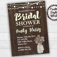 rustic bridal shower invitations shop rustic bridal shower invitations on wanelo