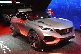 jeep peugeot peugeot u0027s quartz concept is how all crossovers should be like