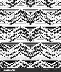 christmas tree geometric pattern u2014 stock vector an brosko