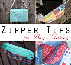 pattern for tote bag with zipper zipper tips for bag making sew sweetness