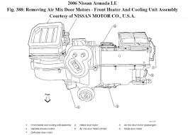 nissan armada window motor no heat replaced heater control valve because only one side was