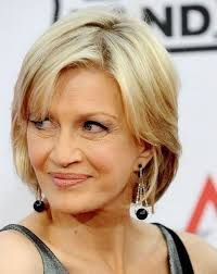 sassy professional haircuts for women over 50 diane sawyer chin length hairstyles for women over age 50 chin
