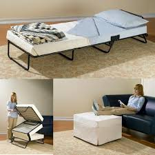 Ottoman Folding Bed Folding Ottoman Sleeper Guest Bed Domestify