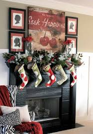 Christmas Decoration For A Fireplace by 50 Most Beautiful Christmas Fireplace Decorating Ideas Christmas