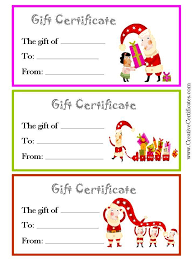voucher certificate template best 25 gift certificate templates