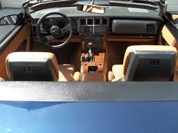 Saddle Interior 89 Conv Dark Blue Metallic Saddle Interior Top 1 Owner 70k Mi
