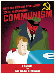 Meme Source - when you program open source you re programming communism