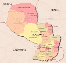Colorado Political Map by Paraguay Political Map