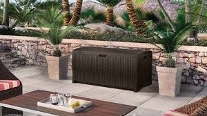best deck box reviews u2013 resin storage boxes quality plastic sheds