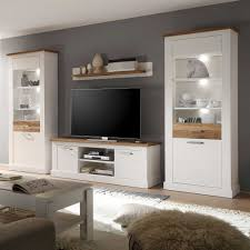 Wohnzimmerverbau Modern Awesome Wohnzimmer Wohnwand Weiß Contemporary House Design Ideas