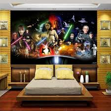 online buy wholesale star wars photo wall from china star wars custom 3d photo wallpaper mural kids room bed room star wars galaxy 3d painting sofa tv