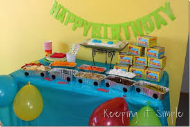 birthday party ideas for boys boy birthday party ideas food favors and shirt idea