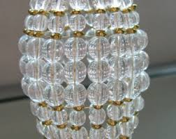 Crystal Beads For Chandelier Beaded Light Bulb Covers U0026 Light Bulb Shades By Lumieresf On Etsy
