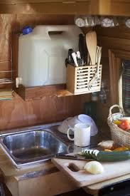 Kitchen Design Bristol Easy And Small Sink Solution With A Drain 5 Gallon Bucket Below