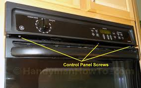 Ge Wall Mount Oven How To Replace A Built In Oven Fan
