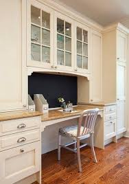 desk in kitchen ideas kitchen cabinet desk ideas and photos madlonsbigbear com