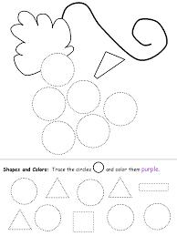 100 preschool worksheets about shapes 26 best shapes images