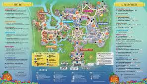 halloween horror nights 25 map mickey s not so scary halloween party long title great fun for