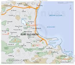 map port port elizabeth map