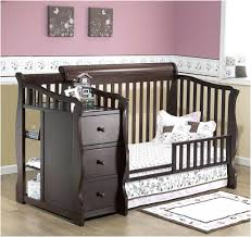 Sears Changing Table Baby Cribs Modern Neutral Harriet Bee Coral Home Furniture