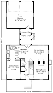 colonial style house plan 2 beds 2 5 baths 1750 sq ft plan 992
