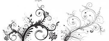 free floral ornaments vector free vectors