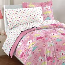 Hello Kitty Bedroom Set Rooms To Go Mainstays Kids U0027 Coordinated Bed In A Bag Pink Horsey Walmart Com