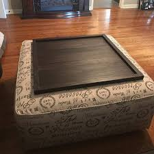 Ottoman Tray Square Ottoman Tray Table Top