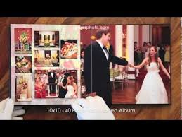 10x10 wedding album 10x10 40 page non matted leather craftsmen wedding album 2