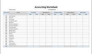 Account Balance Sheet Template Basic Accounting Spreadsheet Bookkeeping Small Business Accounts