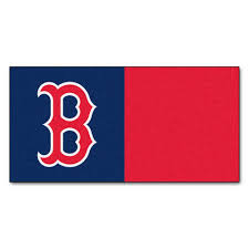 Boston Red Sox Home Decor by Fanmats Mlb Boston Red Sox Navy Blue And Red Nylon 18 In X 18
