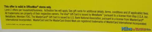 make money officemax 20 off visa mc gift cards
