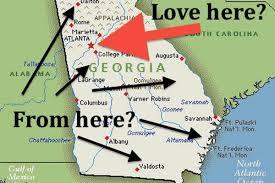 Valdosta Map As Atlanta Gets Nicer Will Georgia Stop Hating It Curbed Atlanta