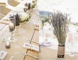 dã coration de table de mariage lavande officinale 55 décorations de table mariage réussies