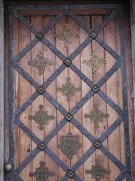 image after textures woods door ornaments copper metal iron
