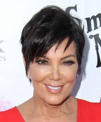 kris jenner hair colour kris jenner short straight casual hairstyle dark brunette hair color