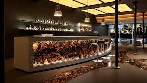 wild tiger eye gold stone way cool bar design commercial